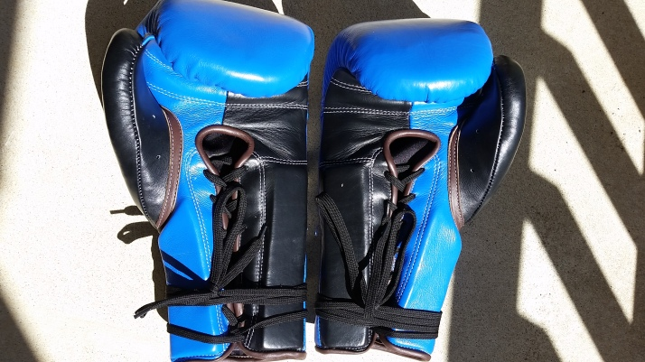 Custom Sabas 16oz SuperSoft Boxing Gloves Palm-side