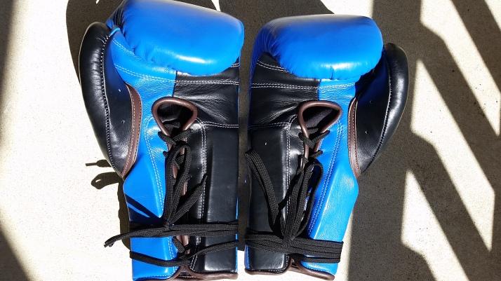 Custom Sabas 16oz SuperSoft Boxing Gloves Palm-side